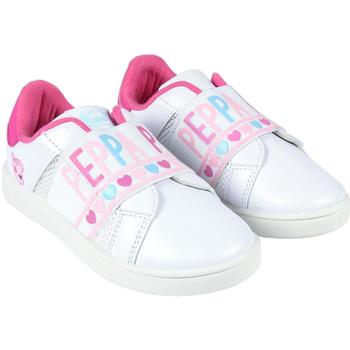 Sko Pige Lave sneakers Peppa Pig 2300004407 Blanco