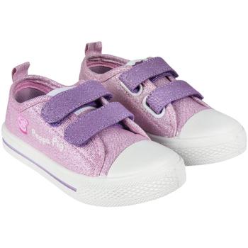 Sko Pige Lave sneakers Peppa Pig 2300004340 Rosa
