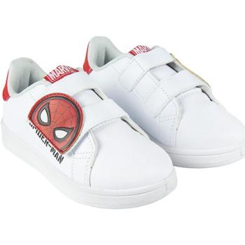 Sko Dreng Lave sneakers Spiderman 2300004478 Blanco