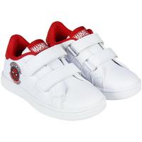 Sko Dreng Lave sneakers Spiderman 2300004066 Blanco