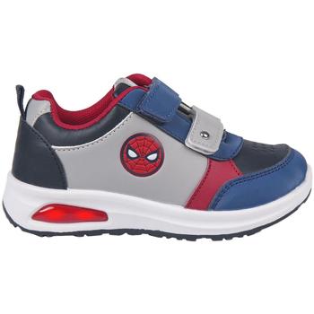 Sko Dreng Lave sneakers Spiderman 2300004803 Gris