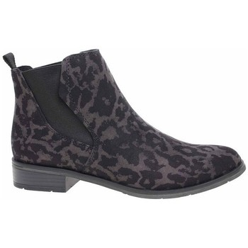 Sko Dame Høje sneakers Marco Tozzi 222532133241 Sort, Brun