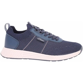 Sko Herre Lave sneakers S.Oliver 551360326805 Flåde