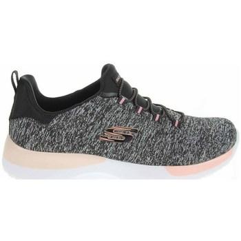 Sko Dame Lave sneakers Skechers Dynamight Sort, Grå