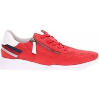 Sko Dame Lave sneakers Jana 882372826555 Rød
