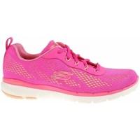 Sko Dame Lave sneakers Skechers Flex Appeal 30 Pink
