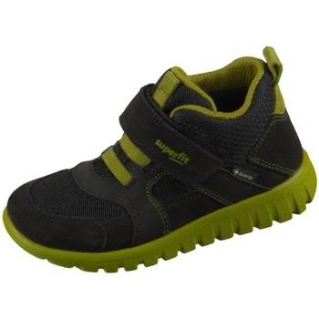 Sko Børn Høje sneakers Superfit SPORT7 Mini Sort, Oliven