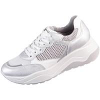 Sko Dame Lave sneakers IgI&CO Donna Eva Hvid, Sølv