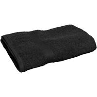 Indretning Håndklæde og badehandske Towel City 30 cm x 50 cm RW2880 Black
