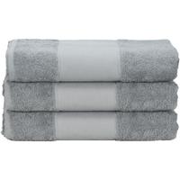 Indretning Håndklæde og badehandske A&r Towels 50 cm x 100 cm Anthracite Grey