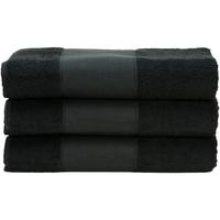 Indretning Håndklæde og badehandske A&r Towels 50 cm x 100 cm Black