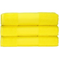 Indretning Håndklæde og badehandske A&r Towels 50 cm x 100 cm Bright Yellow