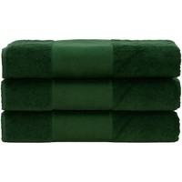 Indretning Håndklæde og badehandske A&r Towels 50 cm x 100 cm Dark Green