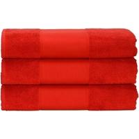 Indretning Håndklæde og badehandske A&r Towels 50 cm x 100 cm Fire Red