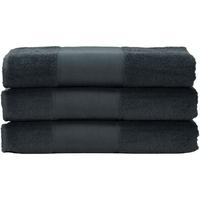 Indretning Håndklæde og badehandske A&r Towels 50 cm x 100 cm Graphite