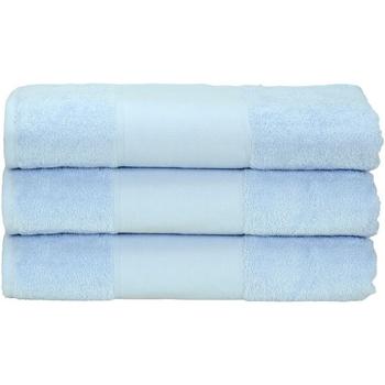 Indretning Håndklæde og badehandske A&r Towels 50 cm x 100 cm Light Blue