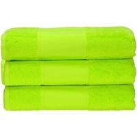 Indretning Håndklæde og badehandske A&r Towels 50 cm x 100 cm Lime Green