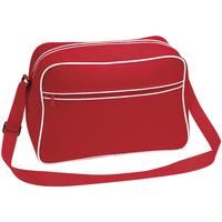 Tasker Dreng Skuldertasker Bagbase BG14 Classic Red/White