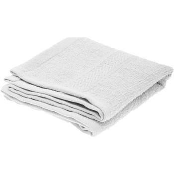 Indretning Håndklæde og badehandske Jassz 30 x 50 cm BC550 White