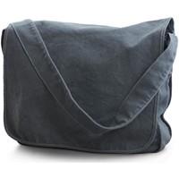 Tasker Dreng Skuldertasker Bags By Jassz CA37309MB Denim Blue