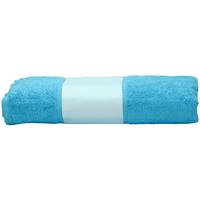 Indretning Håndklæde og badehandske A&r Towels 50 cm x 100 cm Aqua Blue