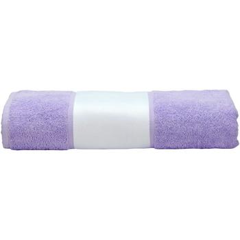 Indretning Håndklæde og badehandske A&r Towels 50 cm x 100 cm Light Purple