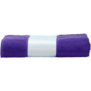 Indretning Håndklæde og badehandske A&r Towels 50 cm x 100 cm Purple