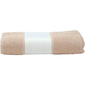 Indretning Håndklæde og badehandske A&r Towels 50 cm x 100 cm Sand