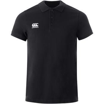 textil Polo-t-shirts m. korte ærmer Canterbury  Black
