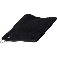 Indretning Håndklæde og badehandske Towel City 30 cm x 50 cm RW1579 Black