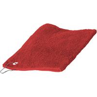 Indretning Håndklæde og badehandske Towel City 30 cm x 50 cm RW1579 Red
