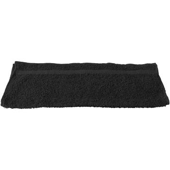Indretning Håndklæde og badehandske Towel City RW1575 Black
