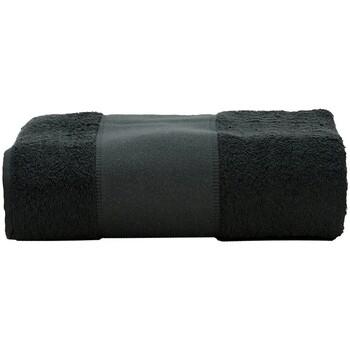 Indretning Håndklæde og badehandske A&r Towels Taille unique Black