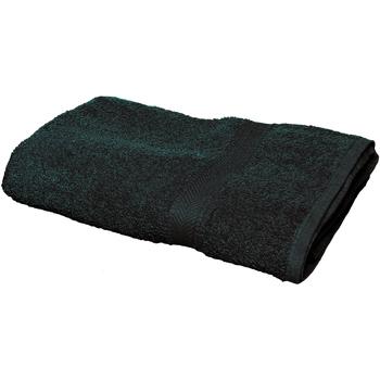 Indretning Håndklæde og badehandske Towel City RW1578 Black