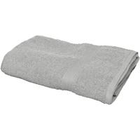 Indretning Håndklæde og badehandske Towel City RW1578 Grey