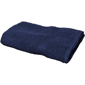 Indretning Håndklæde og badehandske Towel City RW1578 Navy
