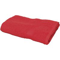 Indretning Håndklæde og badehandske Towel City RW1578 Red