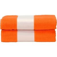 Indretning Håndklæde og badehandske A&r Towels Taille unique Bright Orange
