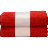 Indretning Håndklæde og badehandske A&r Towels Taille unique Fire Red