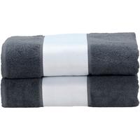 Indretning Håndklæde og badehandske A&r Towels Taille unique Graphite