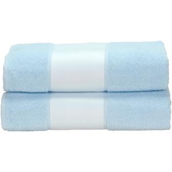 Indretning Håndklæde og badehandske A&r Towels Taille unique Light Blue