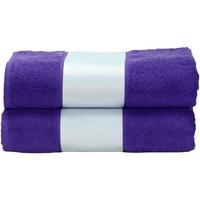 Indretning Håndklæde og badehandske A&r Towels Taille unique Purple