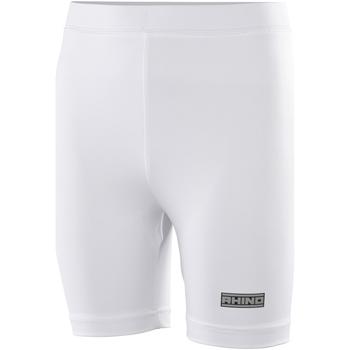 textil Dame Shorts Rhino RH10B White