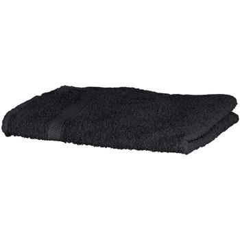 Indretning Håndklæde og badehandske Towel City RW1576 Black