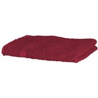 Indretning Håndklæde og badehandske Towel City RW1576 Deep Red