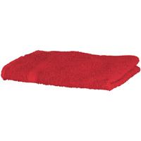 Indretning Håndklæde og badehandske Towel City RW1576 Red