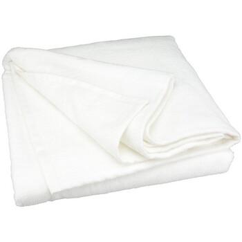 Indretning Strandhåndklæde A&r Towels 50 cm x 100 cm White