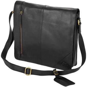Tasker Dreng Skoletasker Eastern Counties Leather  Black