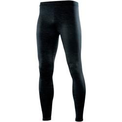 textil Dame Leggings Rhino RH011 Black Heather