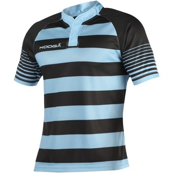 textil Dreng T-shirts m. korte ærmer Kooga K106B Black/Sky